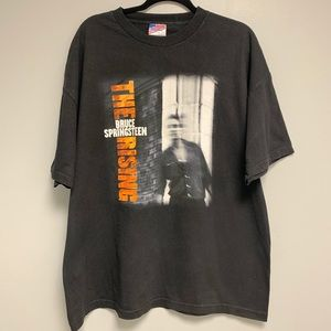 2002 Bruce Springsteen The Rising 2XL Shirt